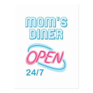 MOMS DINER POSTCARD
