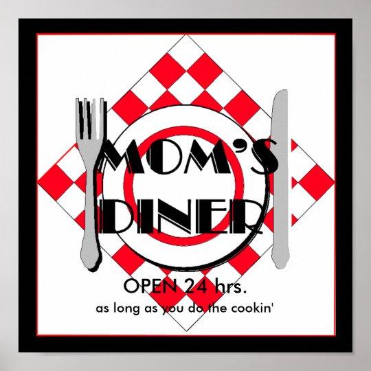 Mom's Diner . Poster