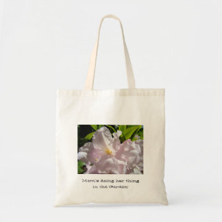 Mom's doing her thing in the Garden! Tote bag gift