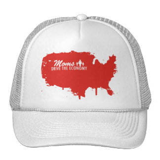 Moms Drive the Economy Mesh Hats