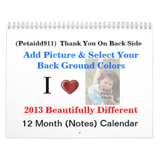 """Moms Everyday"" Add Images 2013 Calendar"