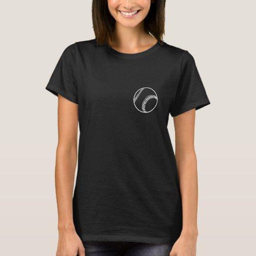 Moms Favorite BBSB Player Dark Shirt