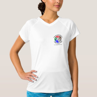 Mom's Favorite Champion Double-Dry V-Neck T-Shirt