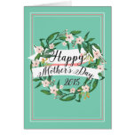 Mom's Favorite Color Mother's Day Card Greeting Card