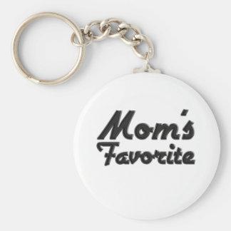 Mom's Favorite Keychain