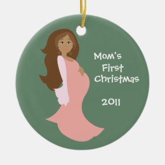 Mom's First Christmas Ornament - Personalized