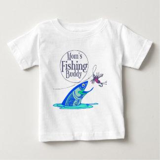 Mom's Fishing Buddy Baby T-Shirt
