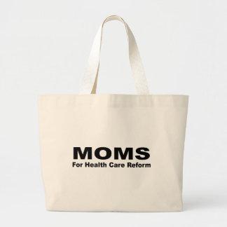 Moms for Health Care reform Tote Bag