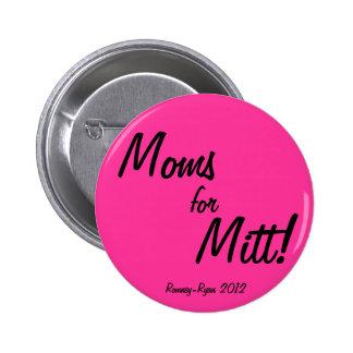 Moms for Mitt! 2 Inch Round Button