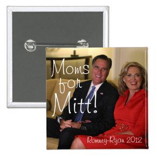 Moms for Mitt! Buttons
