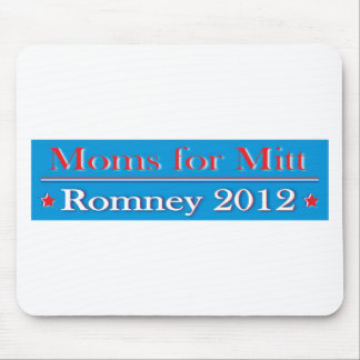 MOMS FOR MITT ROMNEY MOUSE PAD