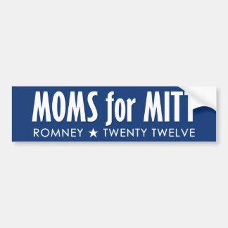 Moms for Mitt - War on Women Car Bumper Sticker