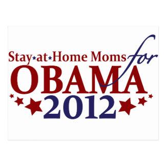 Moms for Obama 2012 Postcard