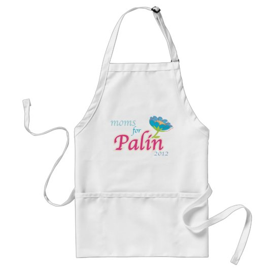 Moms for Palin! Adult Apron