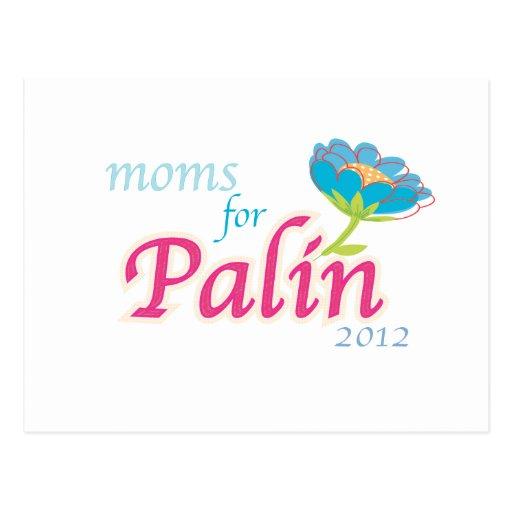 Moms for Palin- Card Postcard