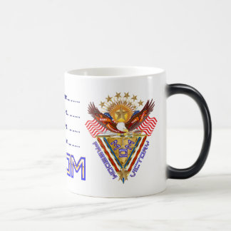 Moms Freedom Award View Info From The Designer 11 Oz Magic Heat Color-Changing Coffee Mug
