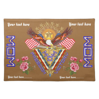 Moms Freedom Award View Info From The Designer Cloth Placemat