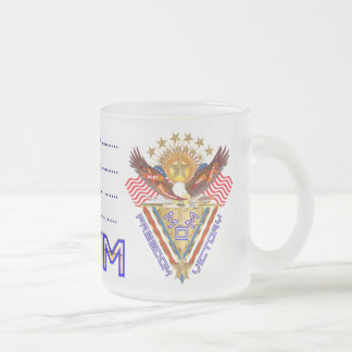 Moms Freedom Award View Info From The Designer Frosted Glass Coffee Mug