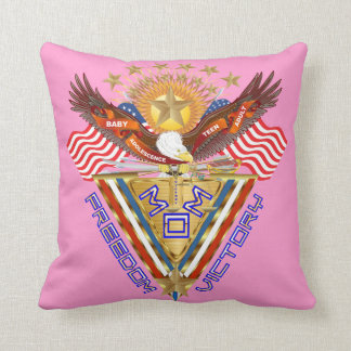 Moms Freedom Award View Info From The Designer Throw Pillows
