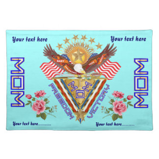 Moms Freedom Award View Info From The Designer Placemat