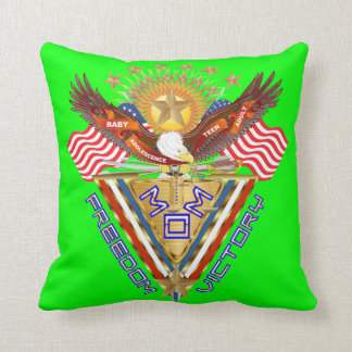 Moms Freedom Award View Info From The Designer Throw Pillow