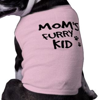 Mom's Furry Kid Doggie Tshirt