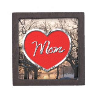 Mom's Gift Box Premium Trinket Boxes