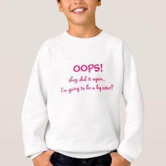 Mom's Having a Baby-Big Sister Sweatshirt