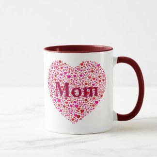 Moms Heart Mug