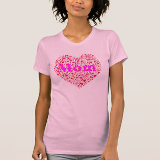 Moms Heart of Hearts T Shirt