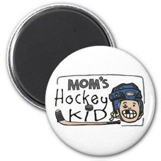 Mom's Hockey Kid Magnet