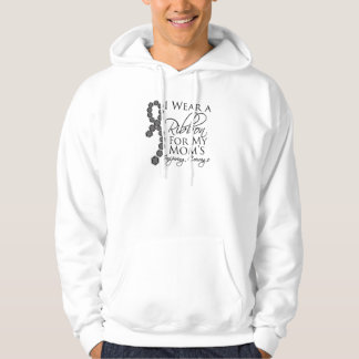 Mom's Inspiring Courage - Skin Cancer Hoodie