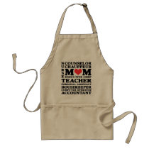Mom's Jobs Mother's Day Apron