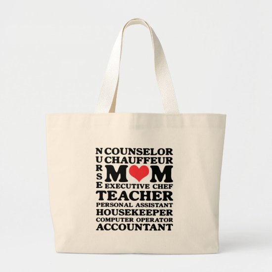 Mom's Jobs Mother's Day Classic Tote Bag