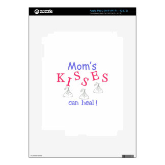 Mom's Kisses Can Heal! iPad 3 Decal