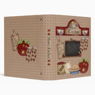 """Moms Kitchen #2, 1"""" (Recipe Binder) Binder"""