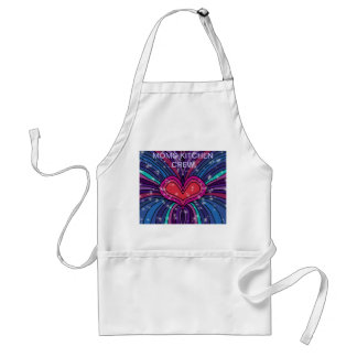 Moms Kitchen Crew Apron
