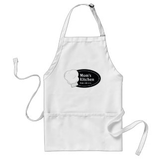 Moms Kitchen Made With Love Adult Apron