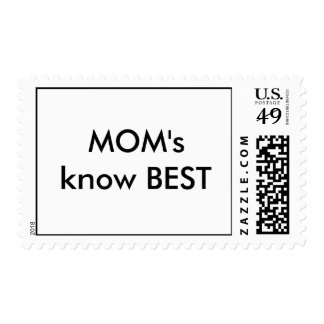 MOM's know BEST Stamps