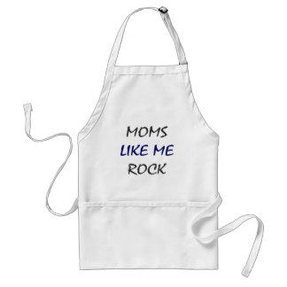 Moms Like Me Rock Adult Apron