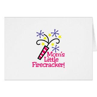 Mom's Little Firecracker! Card