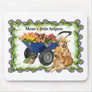Mom's little helpers mouse pad