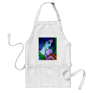 Mom's Love by Piliero Adult Apron