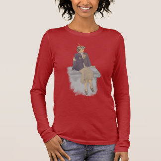 mom's lovely business lady long sleeve T-Shirt