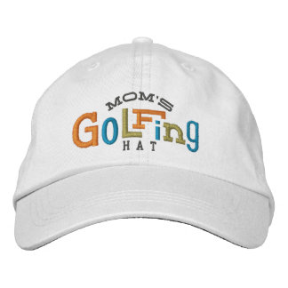 Mom's Lucky Golfing Embroidery Hat Embroidered Hat
