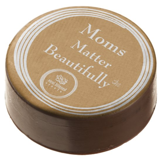 Moms Matter Beautifully Milk Choc Dipped Oreos® Chocolate Covered Oreo
