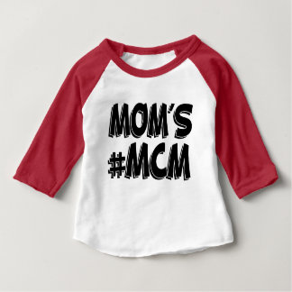 Moms MCM funny baby shirt