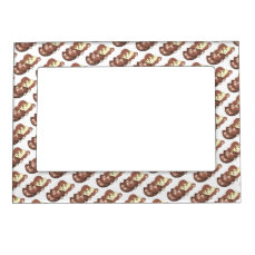 Mom's Meatloaf Mashed Potatoes Gravy Food Foodie Magnetic Photo Frame