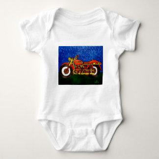 Moms Motorcycle Baby Bodysuit