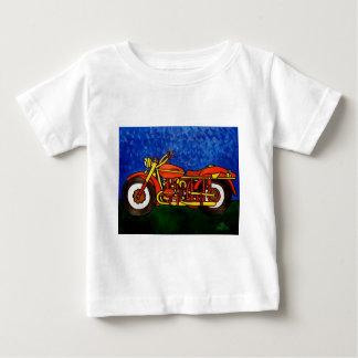Moms Motorcycle Baby T-Shirt